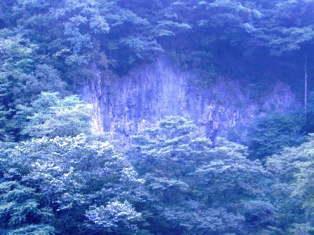 勝山の岩場