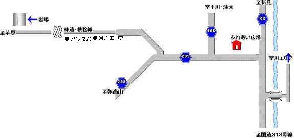 権現谷アプローチ図